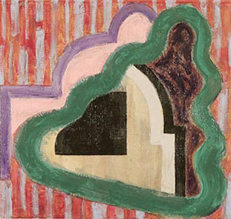 John Edwards, Ganga 2004, acrylic on canvas