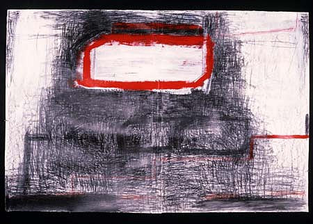 Eric Erickson, Untitled 1985, acrylic, pencil, paper