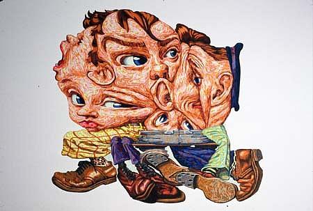 James Esber, Boy's Club 2000, plasticine