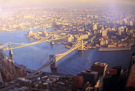 Christopher Evans, New York, In the Light of Memory 2002, oil on plexiglas