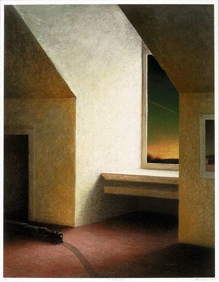 Rob Evans, Marietta Train (II) 1994, digital iris print