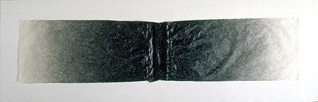 Gretchen Ewert, Continental Drift 2004, pen and ink