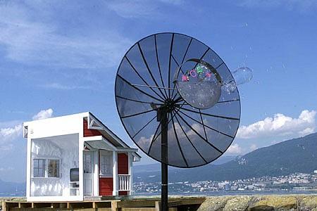 Ernest Daetwyler, Bubble Machine at ArtCanal (bulles de savon)