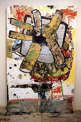 Erik d'Azevedo, Untitled 1997, acrylic