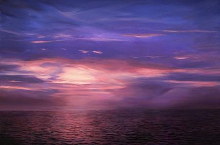 Adrian Deckbar, Lake Pontchatrain 2006, oil on canvas