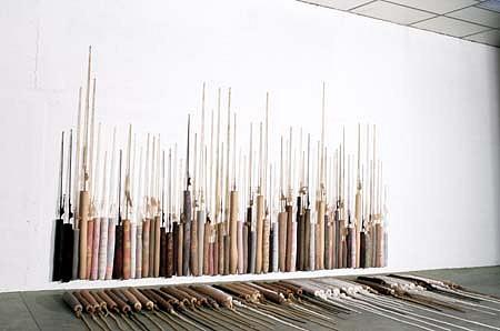 Francois Daireaux, Untitled 1998, textil, silicone