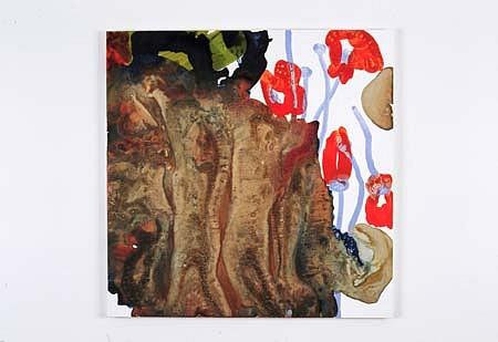 Jasmina Danowski, For Irene 2004, ink on panel