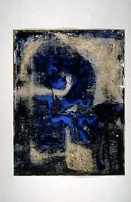 Victor Davson, Portent 1993, acrylic on paper