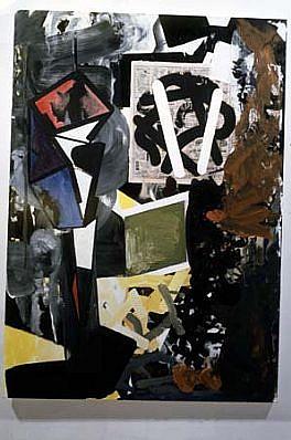 Stephen Davis, Probably 1991, oil on canvas