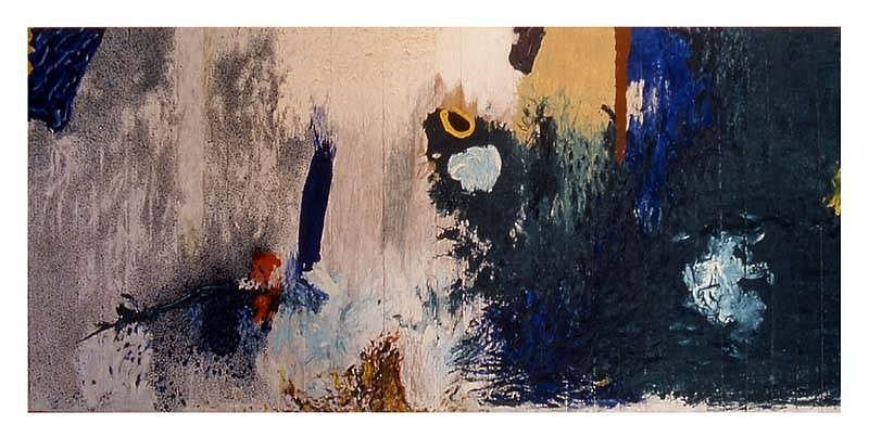 Anibal Delgado, Good Luck (Samarkanda 5) 2001, oil on wood