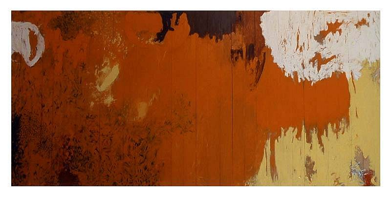 Anibal Delgado, The Damned Privileges (Samarkanda 6) 2002, oil on wood