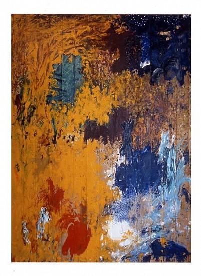 Anibal Delgado, Samarkanda 8 2004, oil on wood