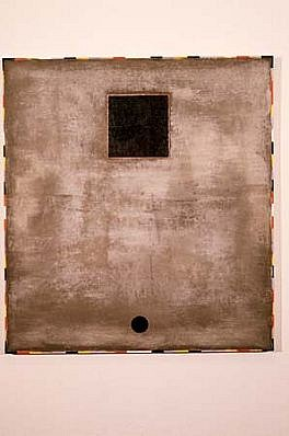 Mariano Del Rosario, Postmodern 1989, mixed media on canvas