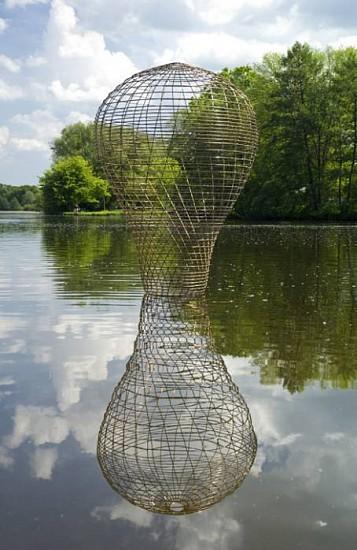 William Dennisuk, Spin 2010, bronze rod