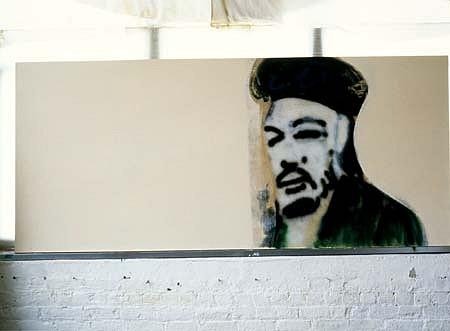Larry Deyab, Revolutionary Portrait - Che 2003, oil, spray paint on canvas