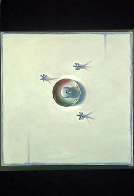 Liz Di Giorgio, Untitled (47) 2003, oil on linen