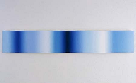 Patrick Dintino, Blue Tube 2004, oil on canvas