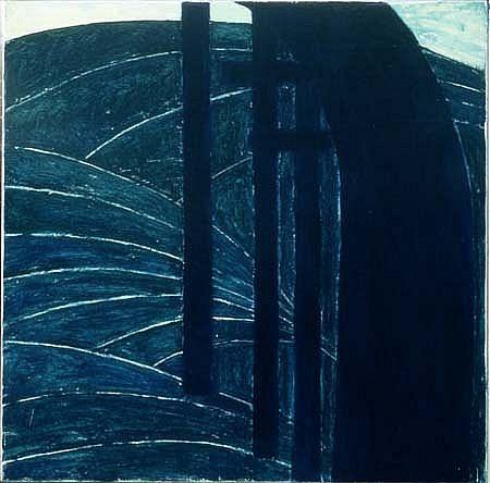 Ulrike Dornis, Tributaries 1996, oil on canvas