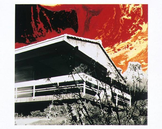 Markus Draper, Uberleben im Chaos 2006, acrylic on canvas