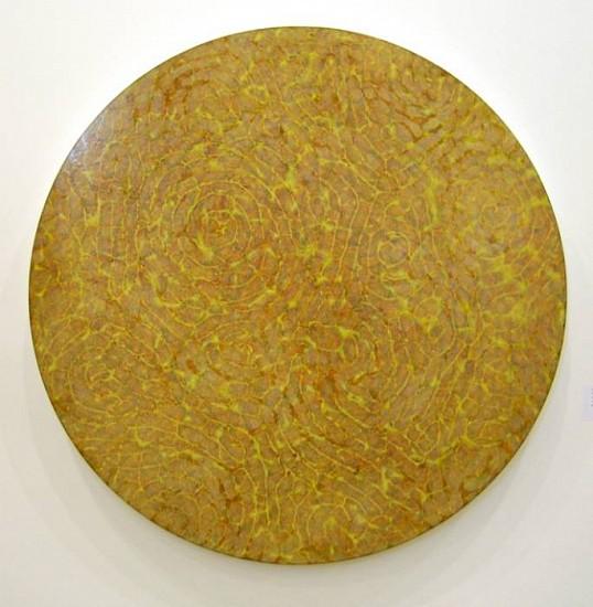 Liz Coats, Big Yellow 2008, acrylic media on board