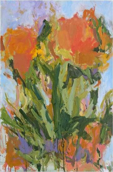 Ryan Cobourn, Garden 06 2008, oil on linen