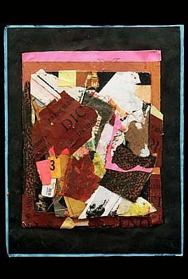 Harvey Cohen, Meeting Miro 2005, collage