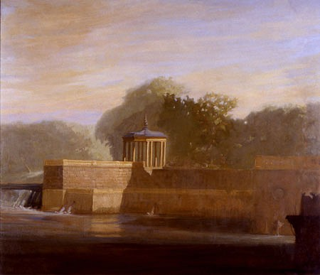 Patrick Connors, Fairmount Gazebo at Dawn 2002, oil on linen