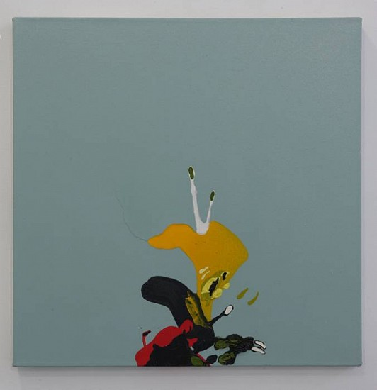 Elizabeth Cooper, Untitled 2007, oil and enamel on canvas
