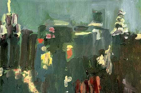 Megan Craig, North Views, Night 2001, oil on masonite