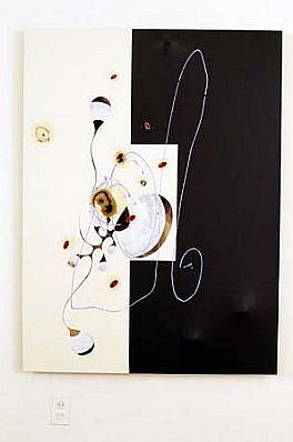 David Craven, Big Bite 2000, acrylic on canvas