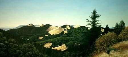 Thomas Creed, Northern Sonoma 1996, oil