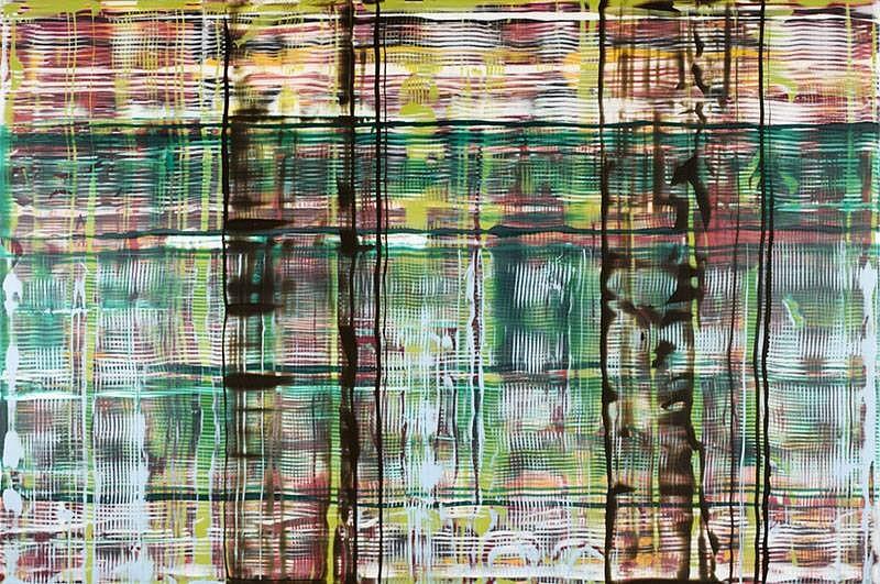 John Cronin, The Devil's Interval (series) 2007, oil on aluminum