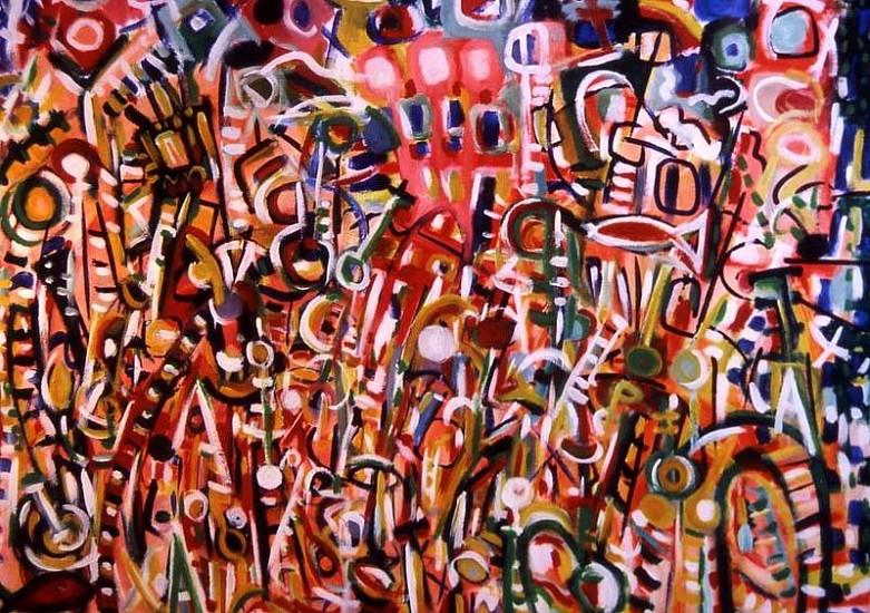 Derek Culley, Metamorphosis 2006, acrylic, oil on canvas