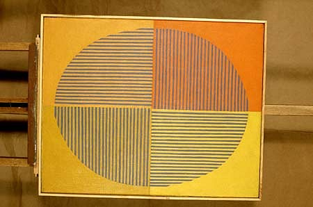 Anna Cyronek Kalinowska, Ellipse II 1968, oil on canvas