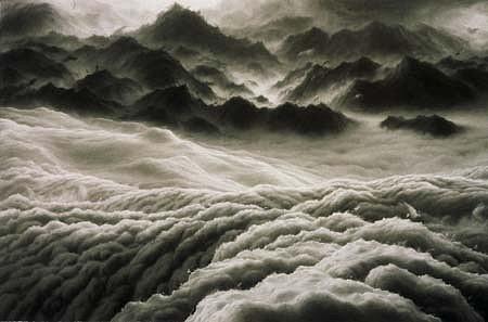Hilary Brace, Untitled Pastel 2001, pastel