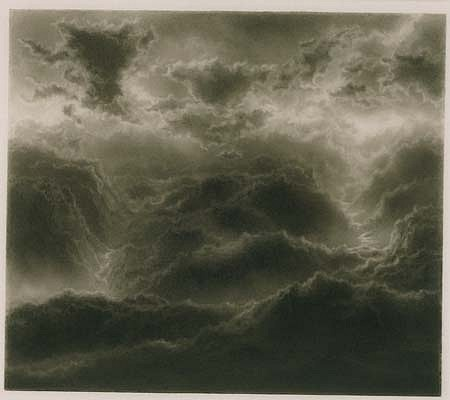 Hilary Brace, Untitled (7-96) 1996, charcoal