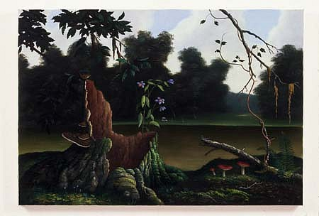 Colin Brant, Catawba Greens 2005, oil on canvas