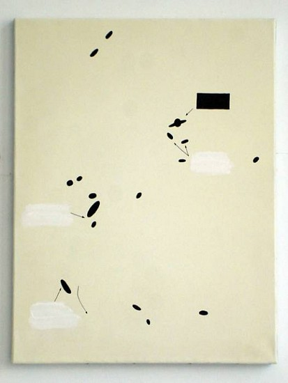 Dorota Buczkowska, Galaxy 2008, acrylic on canvas