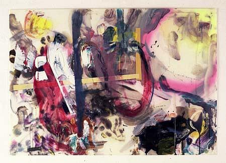 Leonard Bullock, Little Suchbild 2000 - 2004, oil, venetian medium, spray on polystyrol