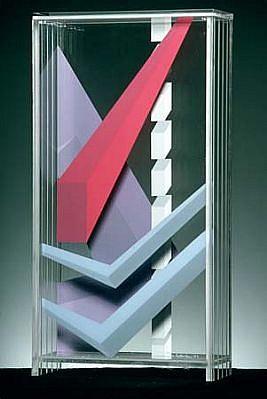 Tom Butterfoss, The Velocity of Love II acrylic on plexiglass