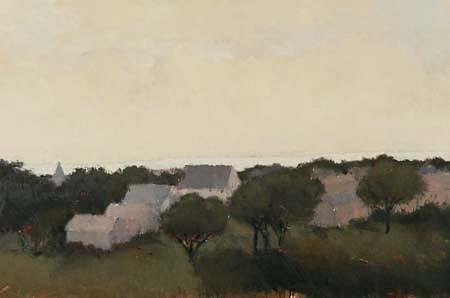 Lisa Breslow, Still 1991, oil on canvas