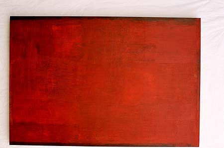Chad Buck, Stillfield 2002, oil on linen