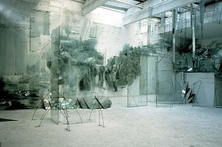 Helen Brough, Seas 1990, glass