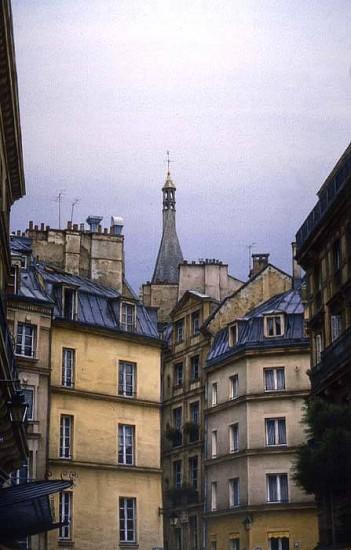 Fredrick Brosen, Rue St. Severin 2003, watercolor on paper over graphite