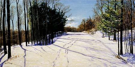 John Briggs, Catskill Snow Trail