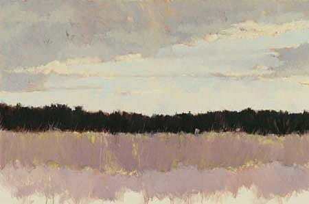 Lisa Breslow, Daybreak 1992, oil on canvas