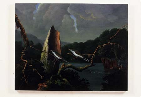 Colin Brant, Swimming Hole No. 1 2005, oil on canvas