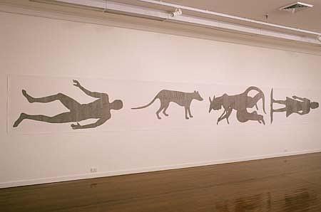 John Brekke, The Road 2000, ink on paper
