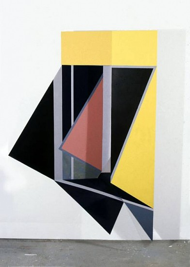 Sean Branagan, Untitled 1995, painted steel