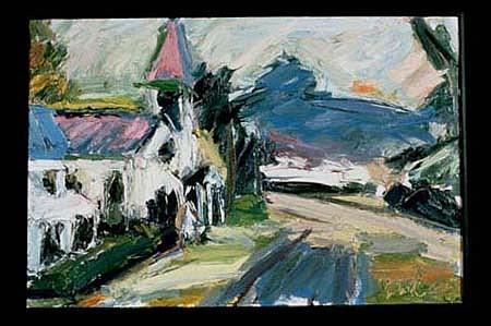 Thomas Brady, Buena Vista Church 1999, oil